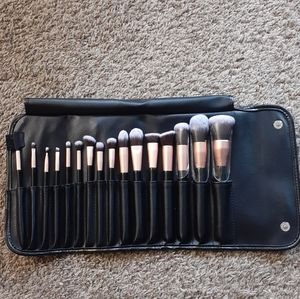 Anjou makeup cosmetic brush set